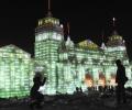 25-й Фестиваль скульптур из снега и льда в Харбине