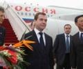 Визит Медведева в Китай начался с посещения Порт-Артура